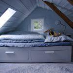 1-/2-er Bett im Dachgeschoss